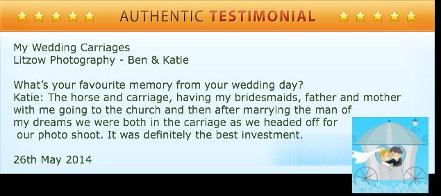 Testimonial from Ben & Katie